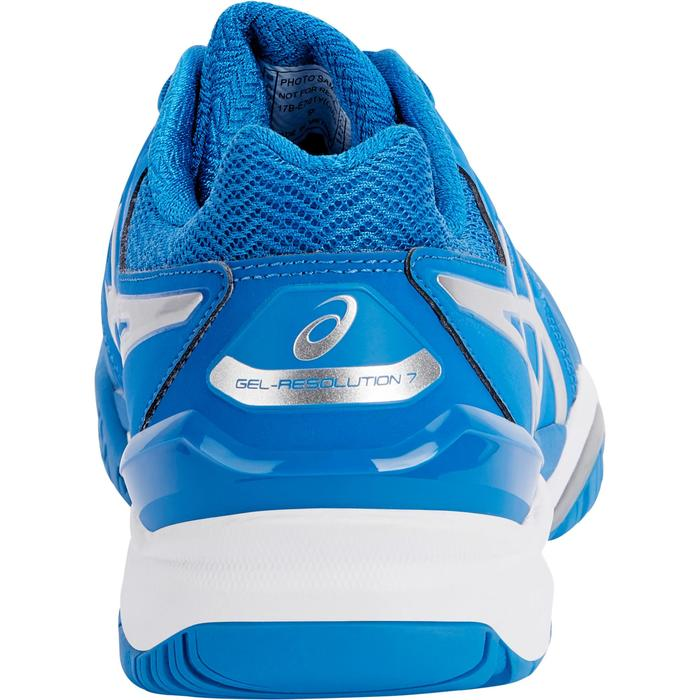 CHAUSSURES DE TENNIS ENFANT ASICS GEL RESOLUTION JR BLEU - 1237640