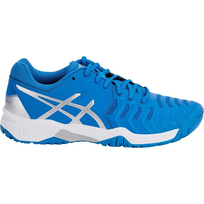 CHAUSSURES DE TENNIS ENFANT ASICS GEL RESOLUTION JR BLEU - 1237652