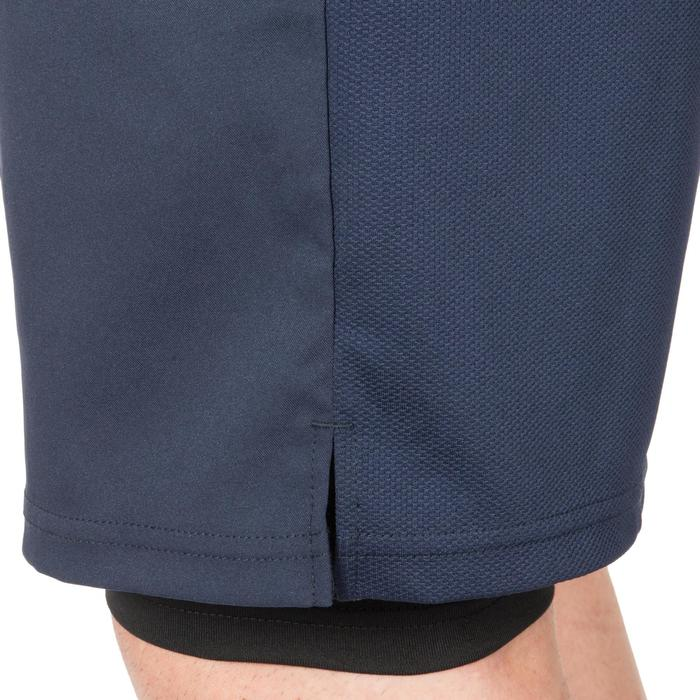 Thermische short 500 voor heren marineblauw