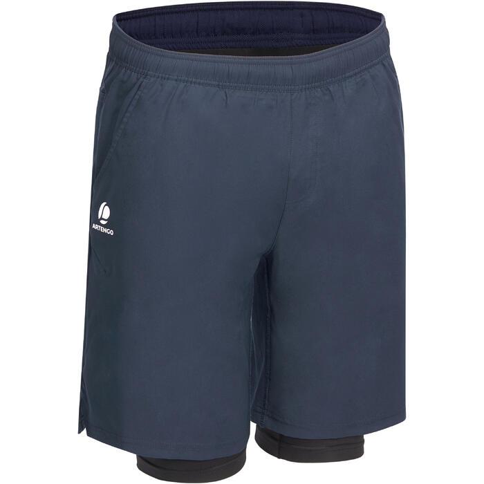 防寒短褲500-海軍藍