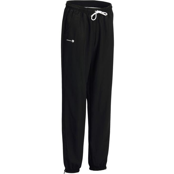Tennisbroek dames Essential 100 zwart