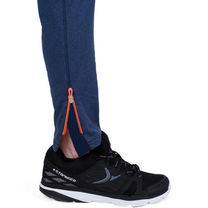 Pantalon 980 chaud slim Gym garçon poches imprimé marine - 1237695