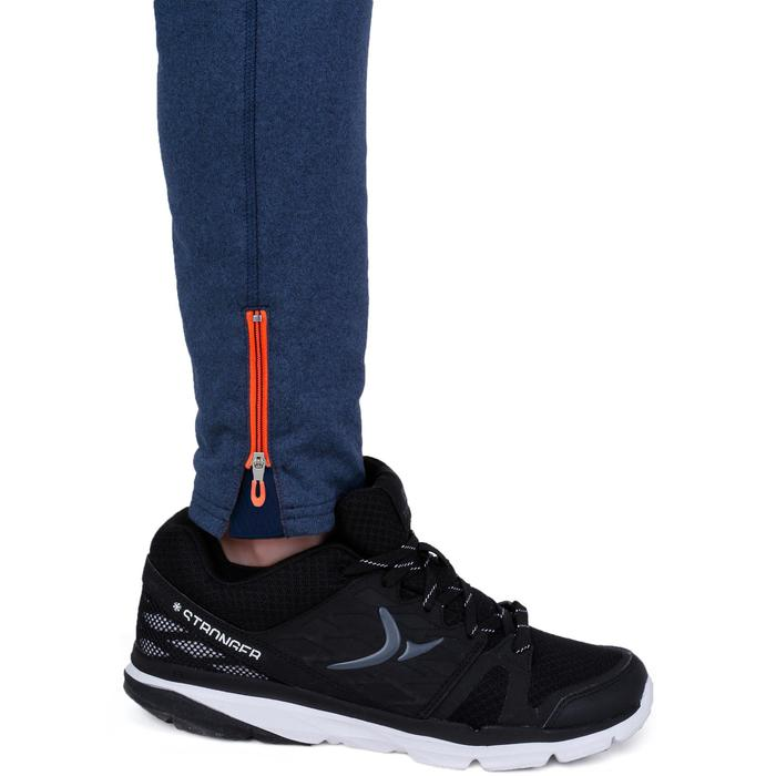 Pantalon 980 chaud slim Gym garçon poches imprimé marine - 1237698