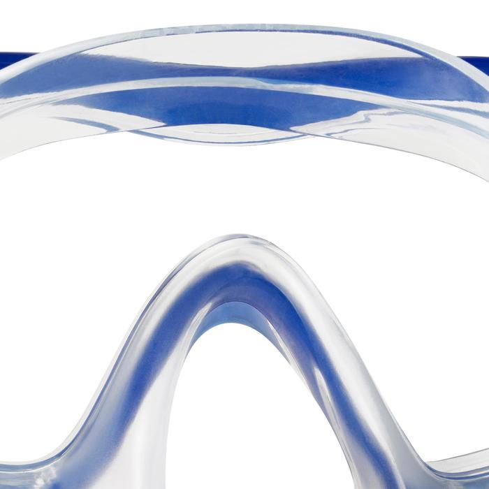 Masker voor freediving FRD120 blauw