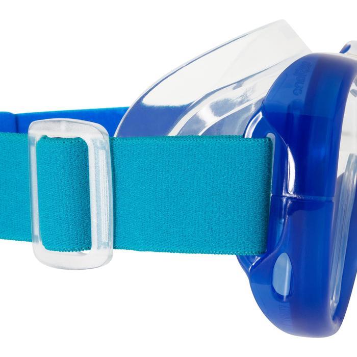 Duikbril 520 SNK blauw