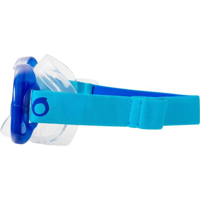 Tauchmaske Freediving FRD120 blau