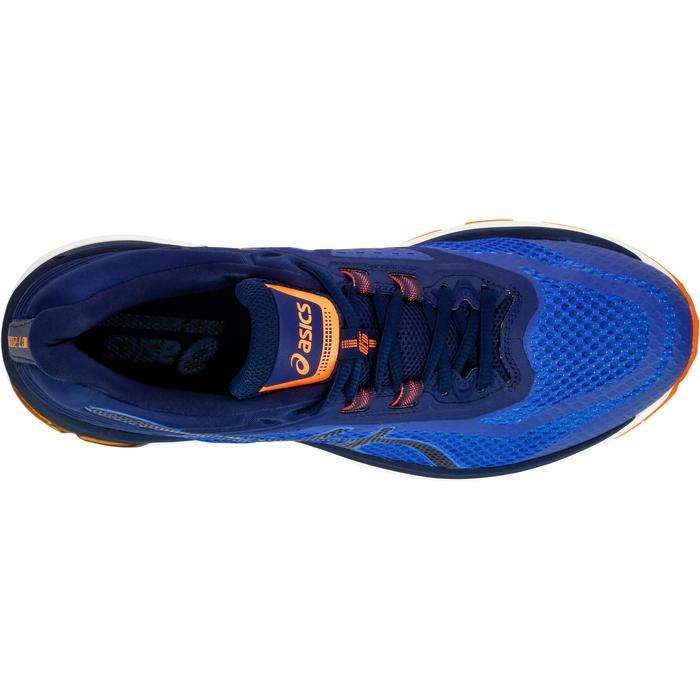 Hardloopschoenen anti pronatie heren Asics GEL GT 2000 6 blauw