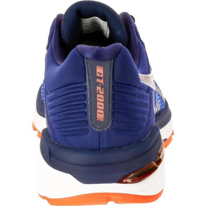 Hardloopschoenen anti pronatie heren Asics GEL GT 2000 6 blauw - 1237797