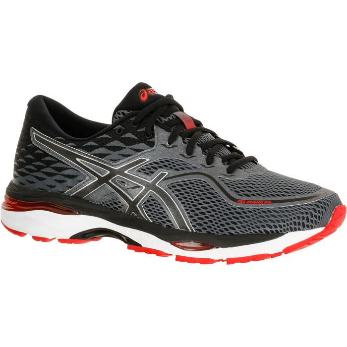 CHAUSSURES RUNNING COURSE A PIED ASICS GEL CUMULUS 19 HOMME ROUGE - 1237799