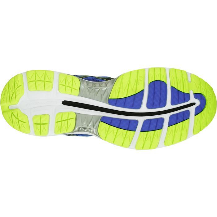Hardloopschoenen voor heren Asics GEL Ziruss blauw geel - 1237804
