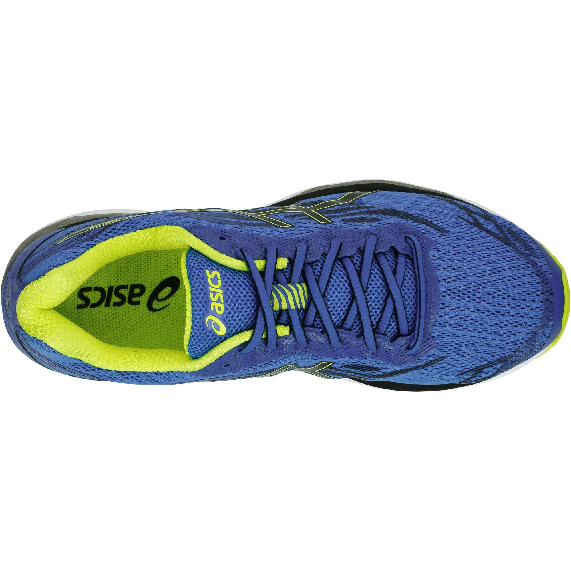 buy popular e96cd 7f0ad Asics Gel Jaune Running Ziruss Decathlon Chaussures Bleu Homme RRwAqrUxT