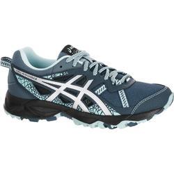 Trailschoenen voor dames Asics Gel Kanaku 3 grijs blauw