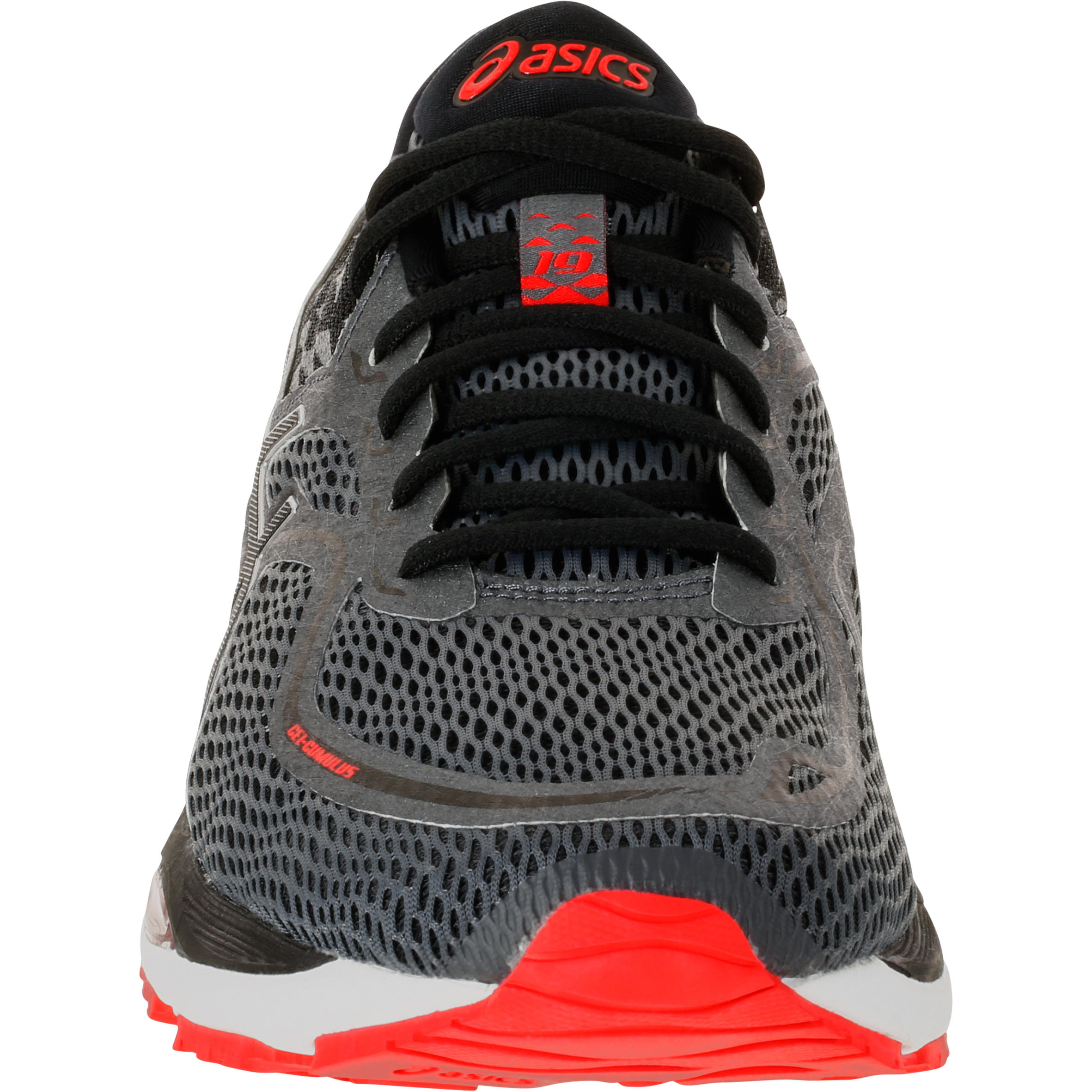 Asics Pied Gel Rouge Cumulus Homme Chaussures Running Course 19 A DH2IWE9