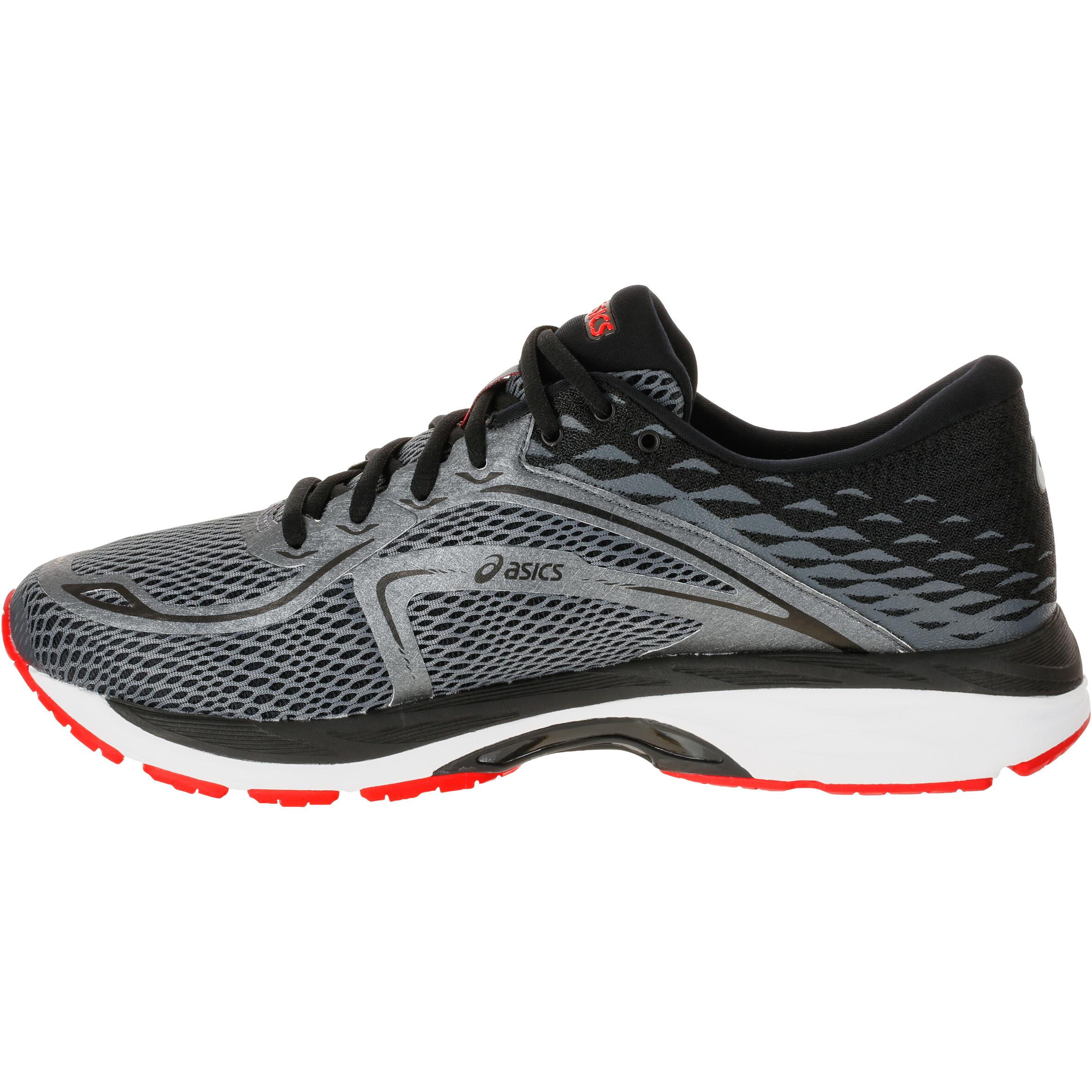 chaussures running asics gel cumulus 19 homme rouge asics