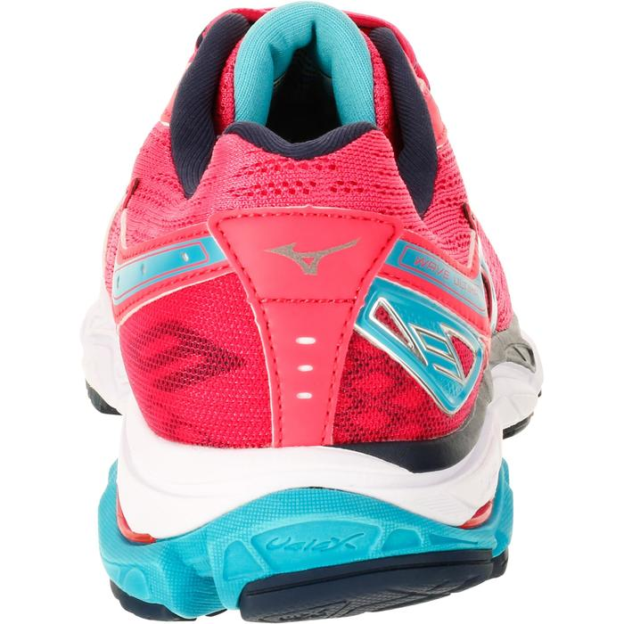 CHAUSSURES RUNNING COURSE A PIED MIZUNO WAVE ULTIMA 9 FEMME ROSE - 1237870