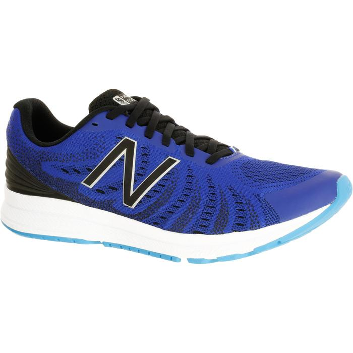 CHAUSSURES COURSE A PIED RUNNING NEW BALANCE RUSH V3 HOMME  BLEU - 1237884