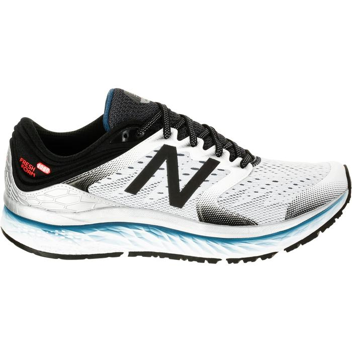 CHAUSSURES COURSE A PIED RUNNING NEW BALANCE 1080 V7 HOMME BLANC - 1237885