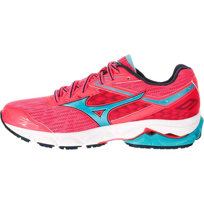 CHAUSSURES RUNNING COURSE A PIED MIZUNO WAVE ULTIMA 9 FEMME ROSE - 1237886