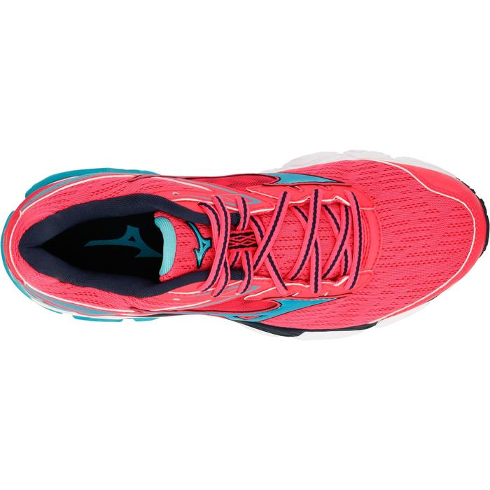 CHAUSSURES RUNNING COURSE A PIED MIZUNO WAVE ULTIMA 9 FEMME ROSE - 1237888