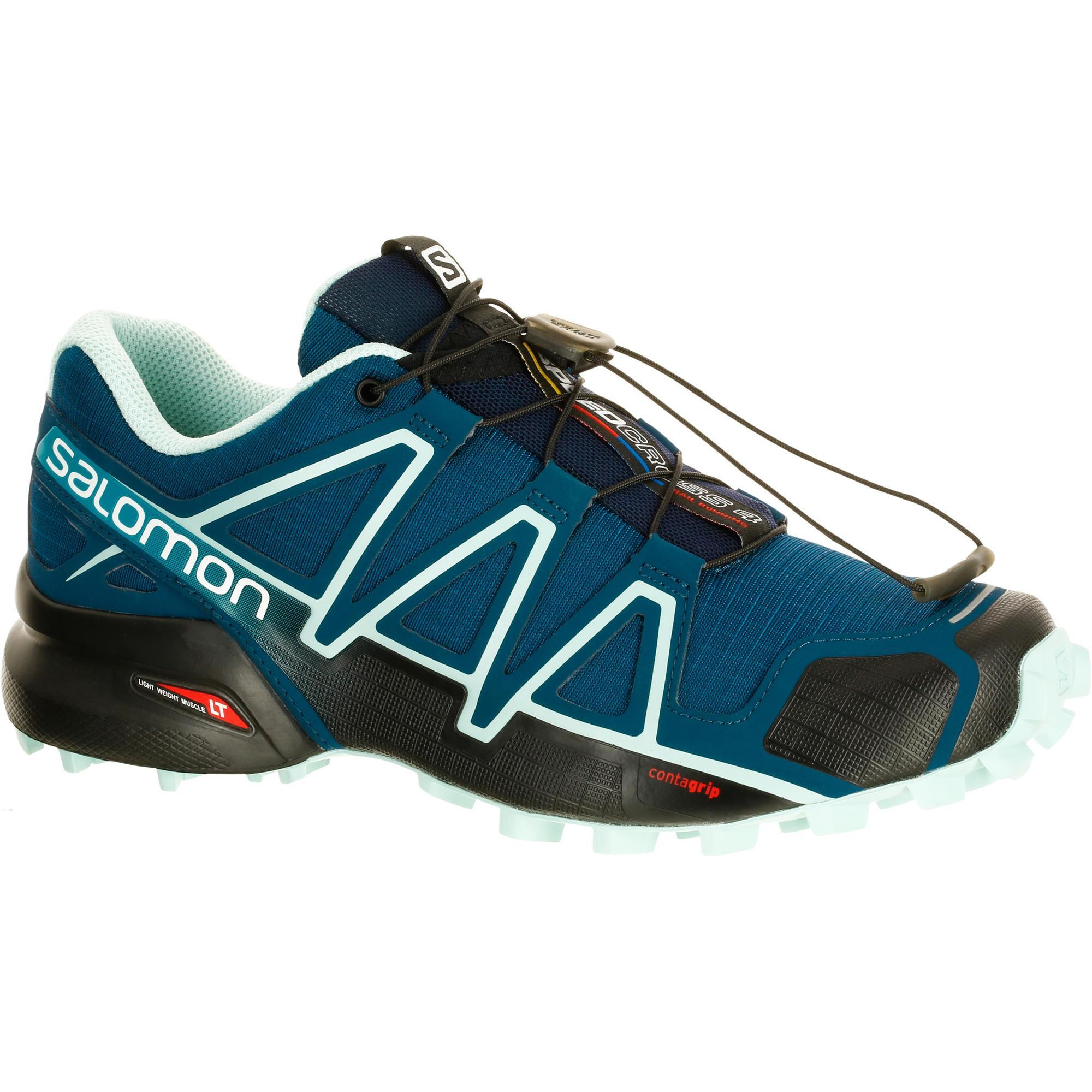 2407209 Salomon Trailschoenen voor dames Salomon Speedcross 4 blauw
