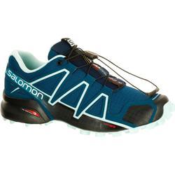 Trailschoenen voor dames Salomon Speedcross 4 blauw
