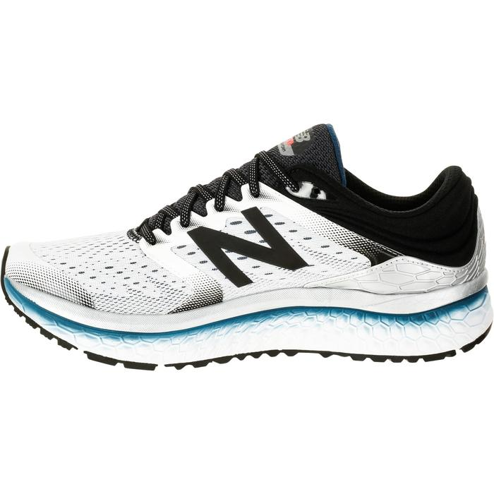 CHAUSSURES COURSE A PIED RUNNING NEW BALANCE 1080 V7 HOMME BLANC - 1237901