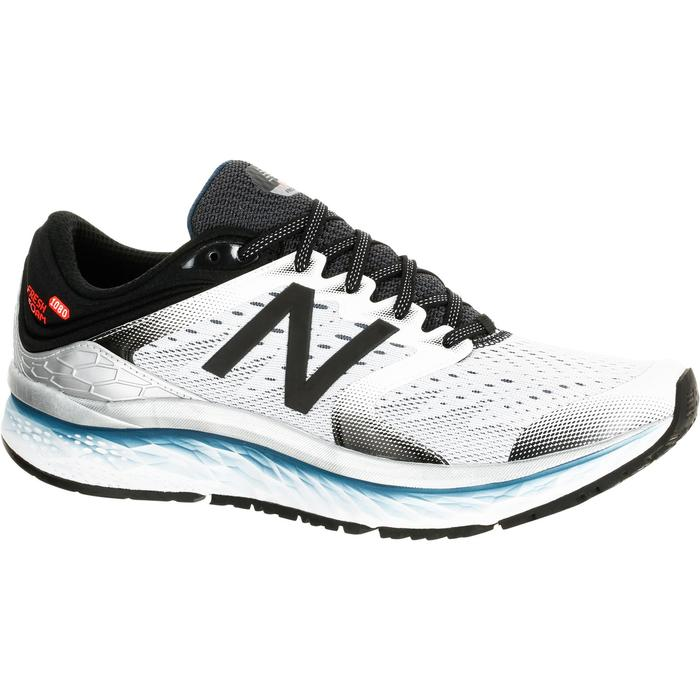 CHAUSSURES COURSE A PIED RUNNING NEW BALANCE 1080 V7 HOMME BLANC - 1237905