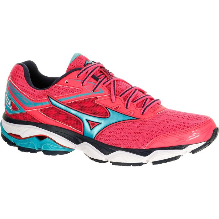 CHAUSSURES RUNNING COURSE A PIED MIZUNO WAVE ULTIMA 9 FEMME ROSE - 1237914