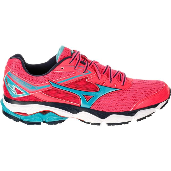 CHAUSSURES RUNNING COURSE A PIED MIZUNO WAVE ULTIMA 9 FEMME ROSE - 1237925