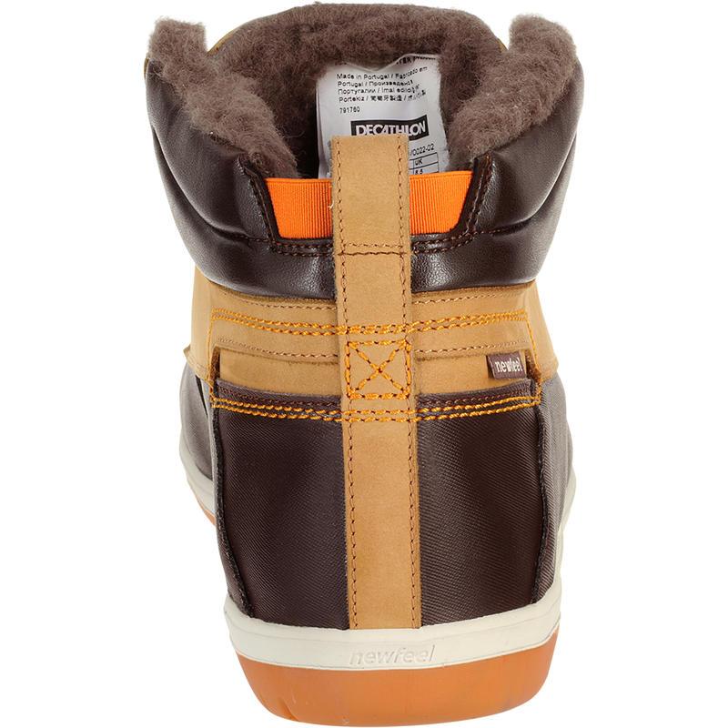 Flow Resist Winter men's everyday walking shoes - brown