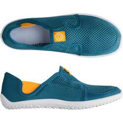 Aquaschuhe 120 Kinder blau/gelb