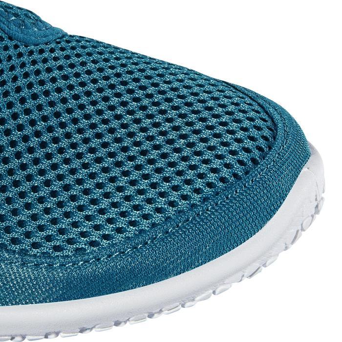 Chaussures aquatiques Aquashoes 120 enfant bleues jaunes - 1238267