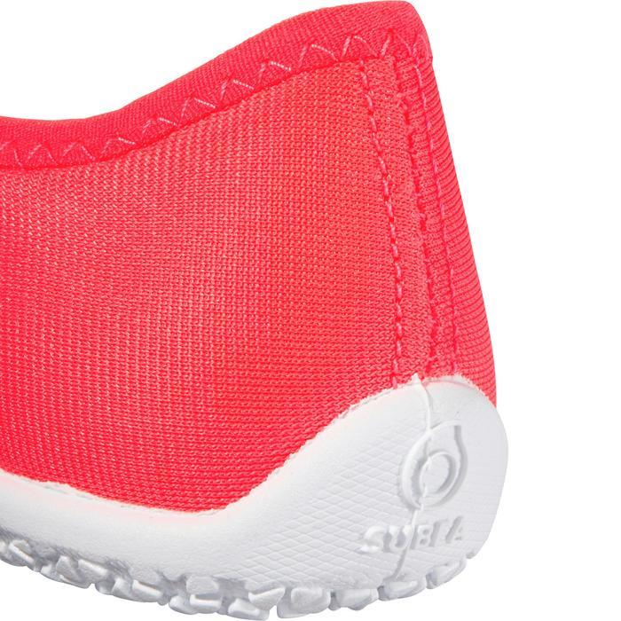Chaussures aquatiques Aquashoes 120 enfant bleues jaunes - 1238269