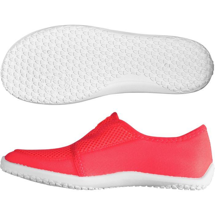 Chaussures aquatiques Aquashoes 120 enfant bleues jaunes - 1238270