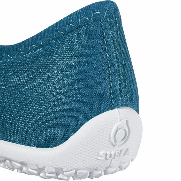 Zapatillas acuáticas Aquashoes 120 niños azul amarillo