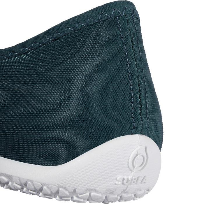 Aquashoes zapatillas acuáticas 120 adulto turquesa oscuro