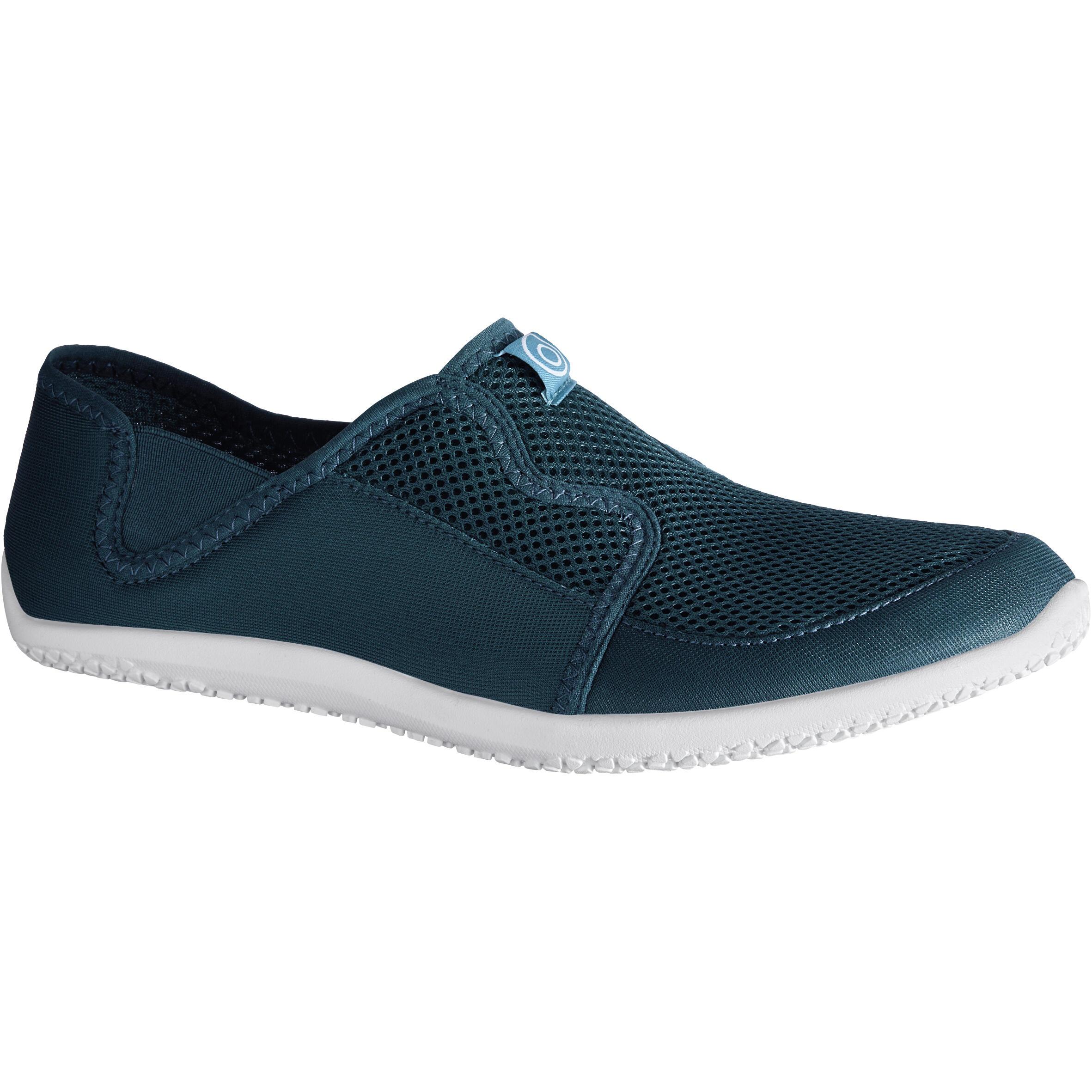 Aquashoes chaussures aquatiques 120 adulte turquoises foncées - Subea