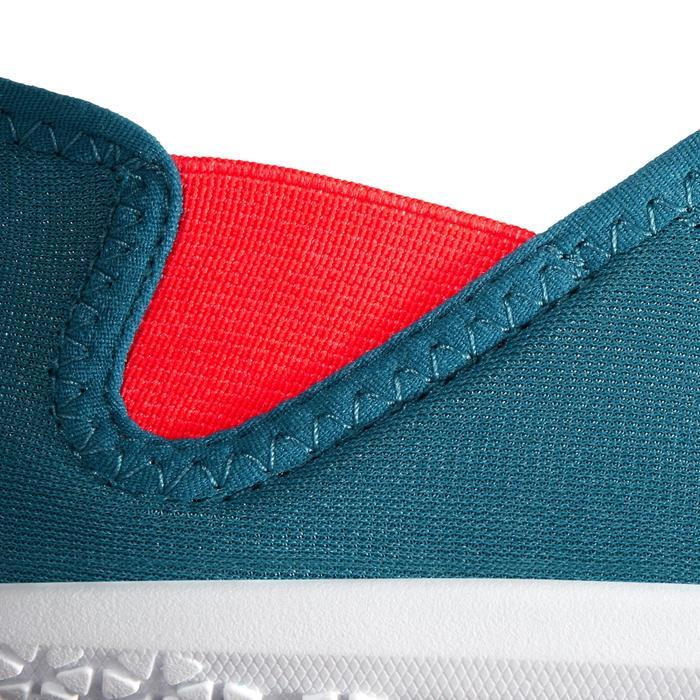 Waterschoenen Aquashoes 120 voor volwassenen blauw rood