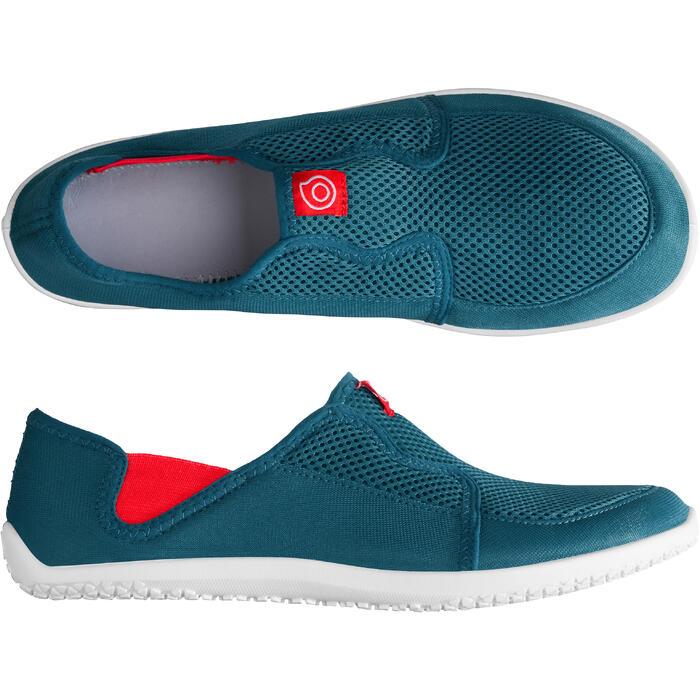 Zapatillas acuáticas Aquashoes 120 adulto azul rojo