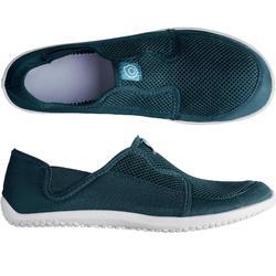 Waterschoenen voor volwassenen Aquashoes 120 donkerblauw
