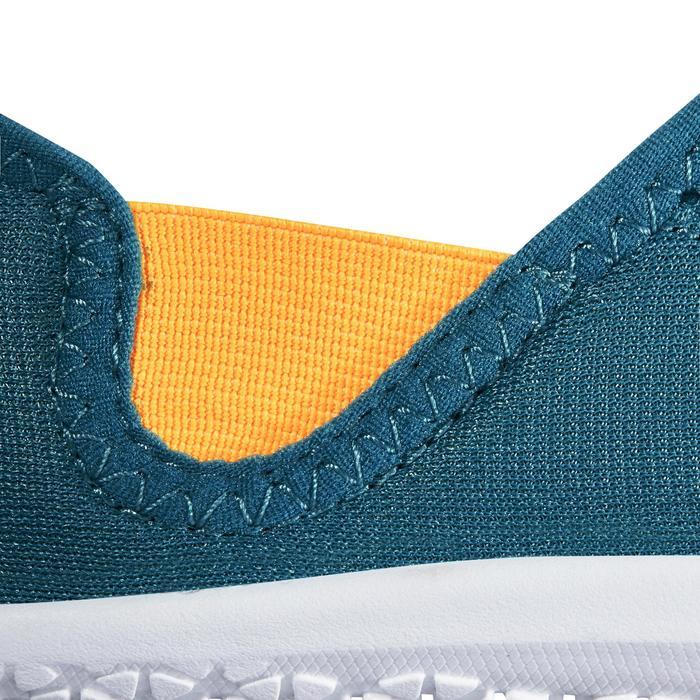 Chaussures aquatiques Aquashoes 120 enfant bleues jaunes - 1238355