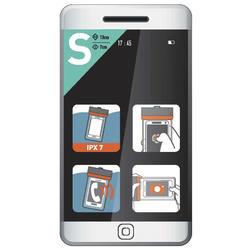 Smartphone Hülle Gr. S wasserdicht IPX7
