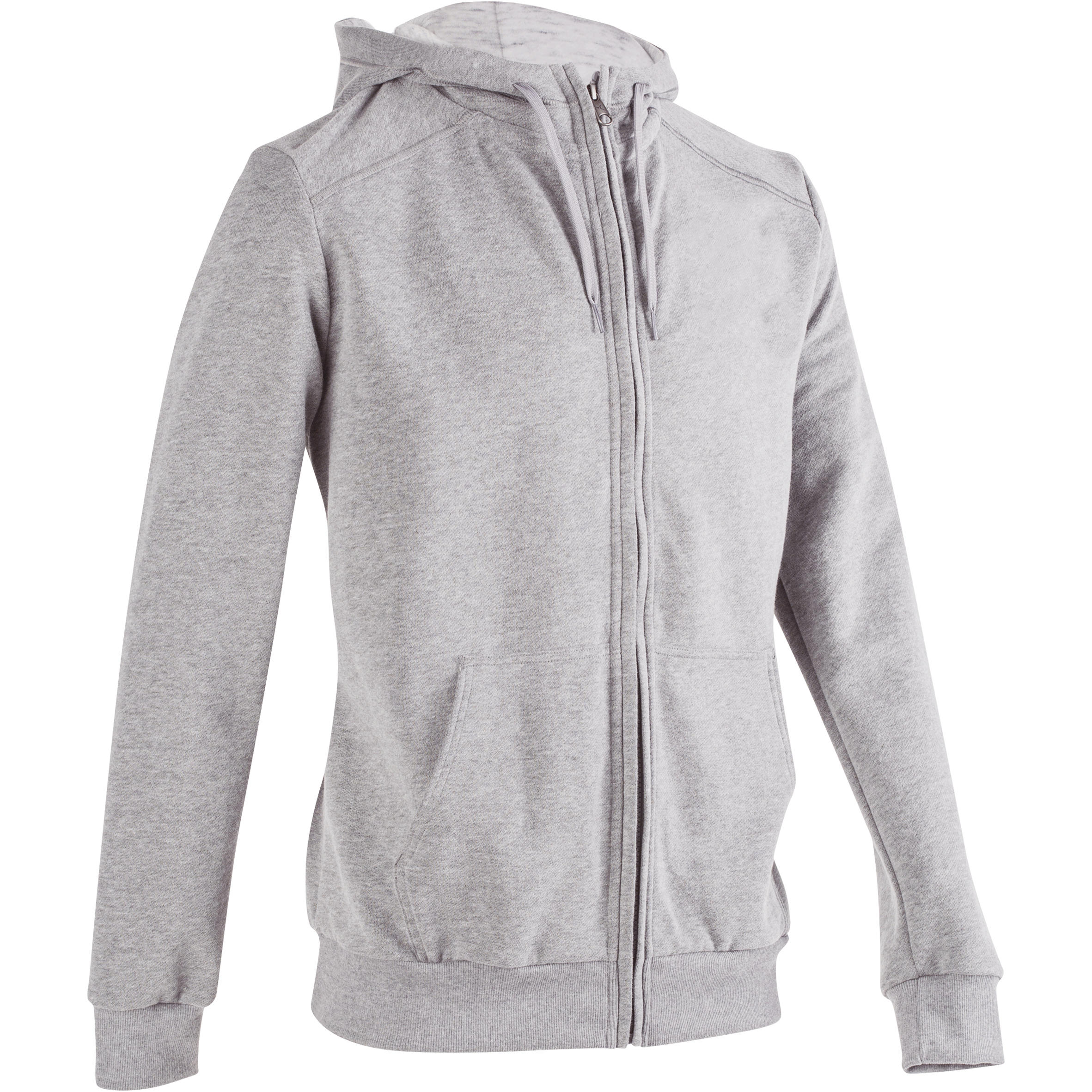 Domyos Gemoltoneerde hoodie voor fitness en pilates heren