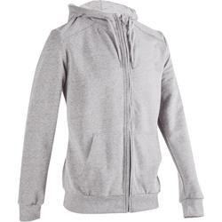 Gemoltoneerde hoodie voor fitness en pilates heren