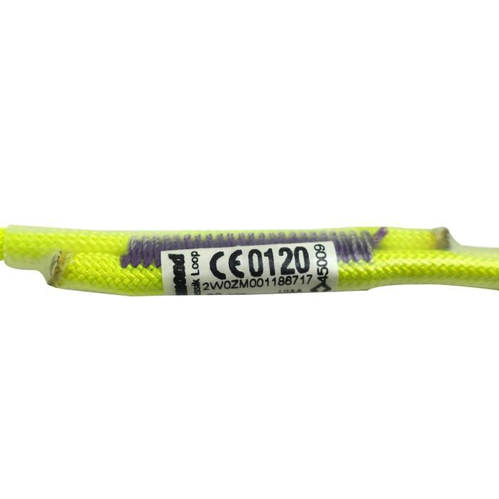 Anneau pour nœud autobloquant PRUSSIK LOOP 60 cm Jaune - 1238515