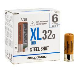 CARTUCHO XL100 32 g ACERO CAL12/70 N°6 X25