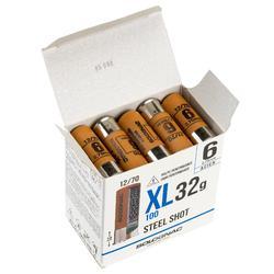 CARTOUCHE XL100 32g ACIER CAL12/70 N°6 X25