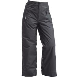 BOYS' FIRST HEAT DARK GREY SKI TROUSERS
