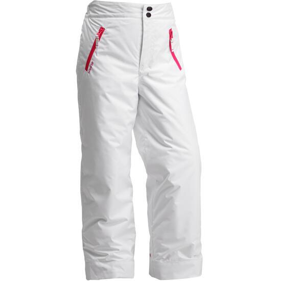 Meisjes skibroek Firstheat wit - 123871