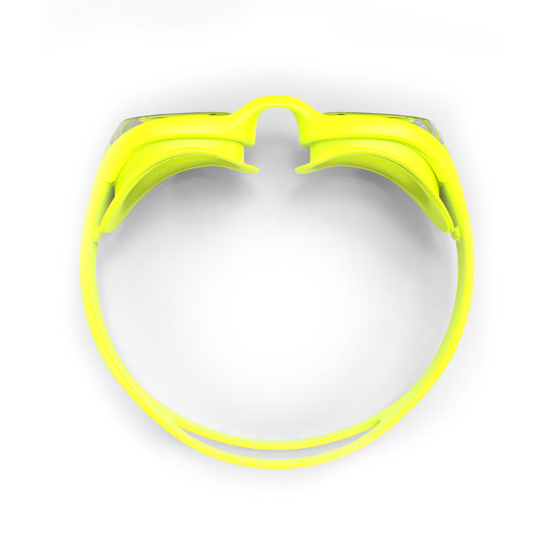 100 XBASE EASY Swimming Goggles - Yellow